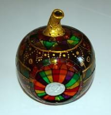 MANZANA vidrio ARABIAN APAGADA
