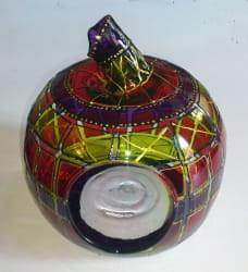MANZANA vidrio INDIANA APAGADA