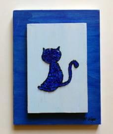 vidrio Gato Azul 3