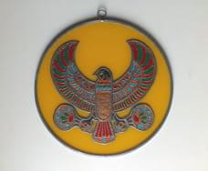 vidrio HALCON EGIPCIO PARED